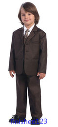 Wholesale Hot sale Custom made Kid s Complete Designer Boys Formal Occasion Jacket Pants Vest Tie NO