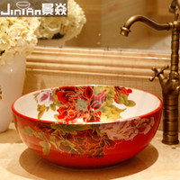 Wholesale ceramic wash basin bathroom counter top basins