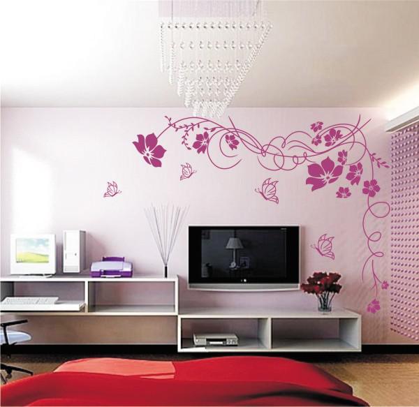 decorazioni murali camera da letto ~ ispirazione di design interni - Decorazioni Per Pareti Soggiorno