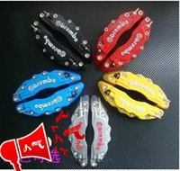 Wholesale niversal set D Brembo Style Disc Brake Caliper Covers Front And Rear Colors