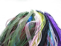 Wholesale Silk Organza Ribbon Necklace Strap Cord Chain Mix Color JF9006