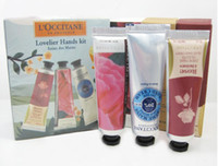 Wholesale 2012 hot selling The shu Dan shea butter peony rose hand cream ml with pieces pack suit fre
