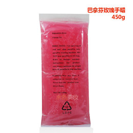 Wholesale Mounted spa rose paraffin bath moisturizing hand wax paraffin bath