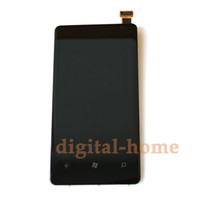 Wholesale New LCD Display amp Touch Screen Digitizer amp Chassis Bezel Assembly For Lumia