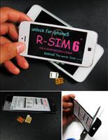 100% Original R- SIM6 Nano sim unlock for iphone5 iOS6. 0 6. 01...