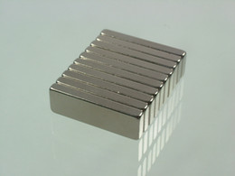 whole-sale 10pcs lot block 25mm*8mm*3mm N52 Neodymium Permanent Strong Magnets block rare earth Craft free shipping