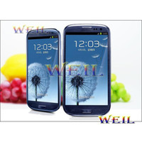 Wholesale MTK6577 S3 I9300 Android Dual Core with GB ROM inch screen MP Camera G GB Cell phone