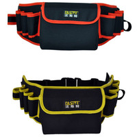 Wholesale oxford multi functional tool bag canvas bag waist pack with waist belt
