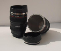 Wholesale CPAM stainless steel Coffee camera lens mug cup Caniam logo the th generation