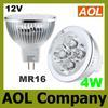 4W MR16 12V White Warm White LED spotlight Lamp Bulb energy saving Spotlight bulbs LED downlight