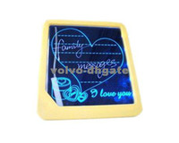 Wholesale Freeshipping LED message board led display handwritten fluorescence plate with a highlighter DK1617