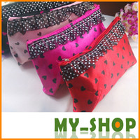 Wholesale Lace caring cosmetic bag multi function travel Wristlet Pouch Storage Bags waterproof cosmetic bag