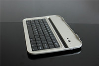 Wholesale Aluminium Bluetooth Keyboard Case Cover For Samsun Galaxy Note N5100 N5110