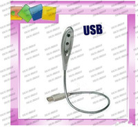 Wholesale LLFA142 USB LED flexibly Metal lamp light for laptop