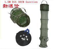 fish brailer trap - 1pcs portable fishing creel folding retractable fish brailer net trap fishing tackle cm dia cm has retail bag