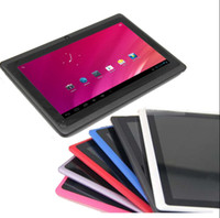 Android 4.2 7 inch 4GB 7 Inch Android 4.2 OS Q88 Allwinner Boxchip A13 Capacitive Screen Tablet PC Webcam Wifi 512M RAM 4GB 1.2GHz