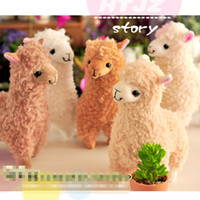 8-11 Years alpaca toy - animal horse grass mud Arpakasso cute horse Alpaca plush toys doll inches styles