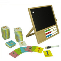 Boys alphabet writing - Ziyu Multifunctional Double Faced Blackboard Wooden Writing Drawing Board Wooden Toy Studying Board