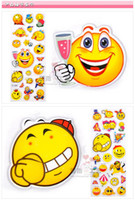 Wholesale 100 Sheets in a Set Mixed Kids Cute Stickers Kids DIY Decoration Stickers Funny And Safe Toys