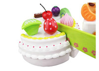 Wholesale Pretend Play Lovely Fruit Cake Birthday Cake Cute And Colorful Kids Gift Christmas Gifts