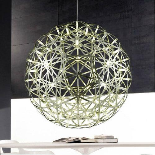 48cm modern lobby lights bar led pendant light living room lights stainless steel ball pendant light ball pendant lighting