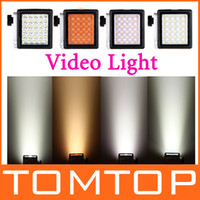 Wholesale NanGuang W LED Video Light LED Light on Camera Camcorder LM for Canon Sony Nikon D873