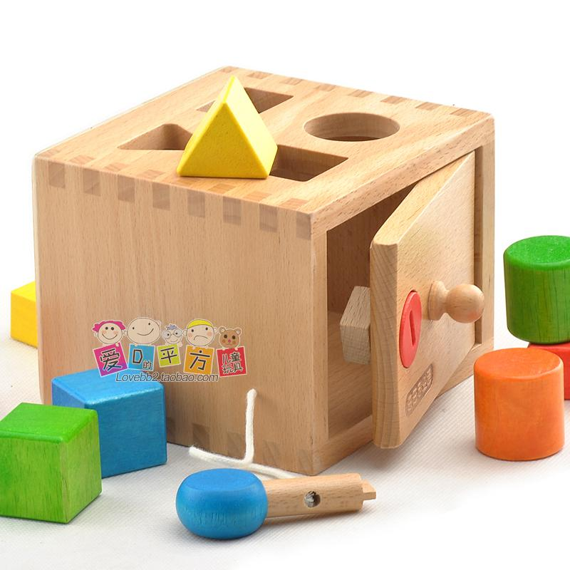 2017 awesome building blocks toy wooden shape box for Cost of building blocks in jamaica 2017