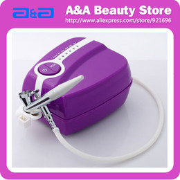 Wholesale Portable Makeup Airbrush Set Mini Air Compressor with Spray Gun kit Speed Airbrush tattoos cake bakery