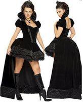 Women queen size sexy lingerie - Sexy Lingerie Halloween Costume Uniform cosplay Costume Corset Wicked Queen Adult Costume Fairytale Halloween Princess Dress Women s Dress