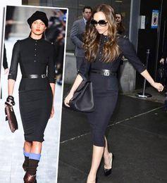 Wholesale New Women Dress Ladies Temperament OL Series Career Dress European and American Style piece