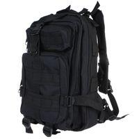 tanning - 30L Outdoor Sport Military Tactical Backpack Molle Rucksacks Camping Trekking Bag Black Tan H9388