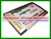 Wholesale New Laptop Mbps PCMCIA to USB Port Build in CardBus expansion