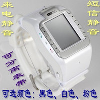 Wholesale 2013 wrist length table mobile phone yami meters w100 n800 personalized watches phone with qq java