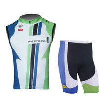 Wholesale cycling Vest short Sleeveless Biking Wear US Championns cycling Shirt rock racing team