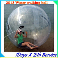 Wholesale 2013 Hot Sale M PVC MM TIZIP Water Walking Ball Water Sphere manufacturer has QUALITY CE