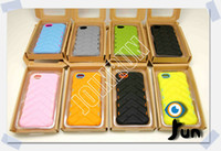 Silicone best tire brands - New Arrival Gumdrop Drop Tech Series Case for iPhone Cases Tire Tyre Pattern Color Brand New Case Best Quality DHL