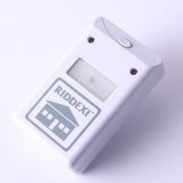 Wholesale Riddex Plus Pest Repelling Aid Electronic Control Ultrasound Machine Animal Repeller