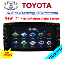 Wholesale inch Car DVD GPS navigation for Toyota Hilux Fortuner innova Vios Old Corolla Old Camry