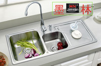 Wholesale Slot sink bundle kitchen sinks sink merlin pots vegetables pull w