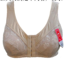 Wholesale Breast Care Treatment Cotton Breast Form Pocket Mastectomy Bra two Colors Special bra For Breast prosthesis