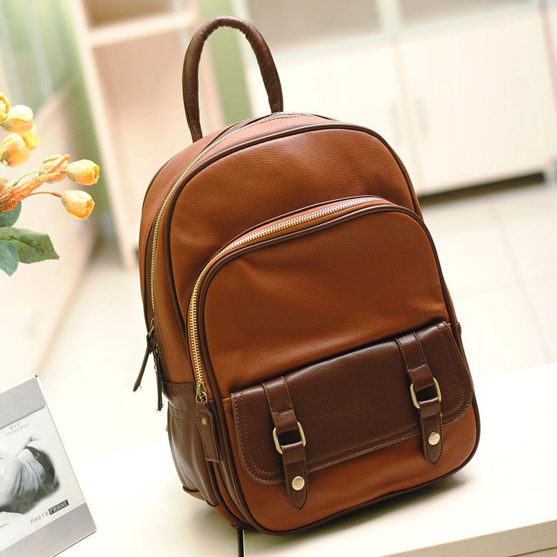 2013 Aliexpress Brown Pu Leather Women Luxury Shoulder Bags Women ...