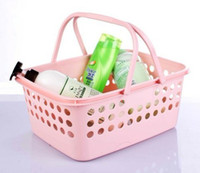 Wholesale Plastic basket shopping basket supermarket shopping portable basket