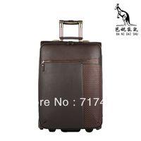 Wholesale Deep brown suitcase