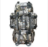 Polyester military backpack - 1pcs L bionic camouflage bag tactical army military backpack Molle travel Outdoor Sports Camping Hiking shoulder bag