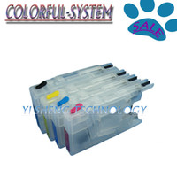 Wholesale Short refillable cartridge for brother LC77 LC79 LC1280 LC450 no ink