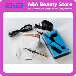 Wholesale Portable Airbrush Tanning Set Body Paint Oilless Silent CE GS UL certificated