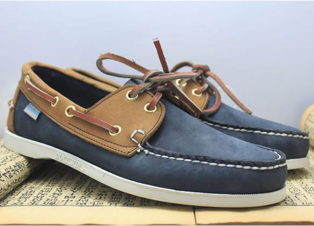 New Designer Casual Boat Shoes Mens Dress Shoes Genuine Leather ...