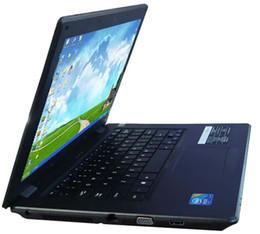 14.1 ноутбук Win 7 ноутбук 2G DDR3 RAM 320 G HDD Win 7 14 дюймовые ноутбуки Intel EMS DHL Доставка