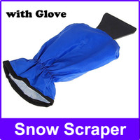 Wholesale New Car snow brush Car Snow Ice Shovel Auto ice scraper shovels Clean Tool Protect Hand Gloves