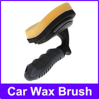 Wholesale Tyre Wax Brush Cosmetics For Automobile Fiber retractable type car wax drag high quality